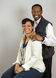 Dr. Recharlette Hargraves & husband, James