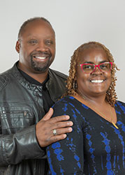 Anthony Lewis & wife, Maureen