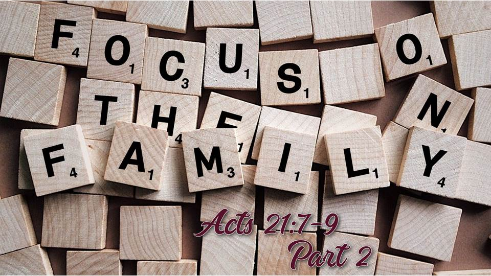 Focus on the Family pt. 2